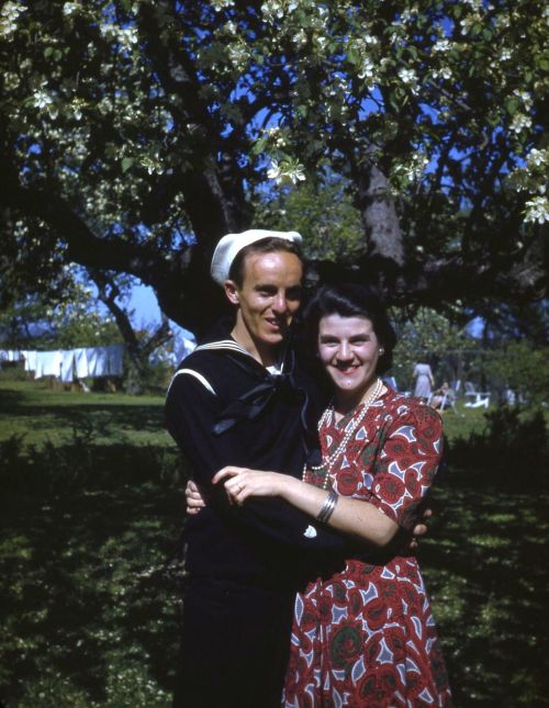 Charlie and Janet, Whirlwind Hill, 1942