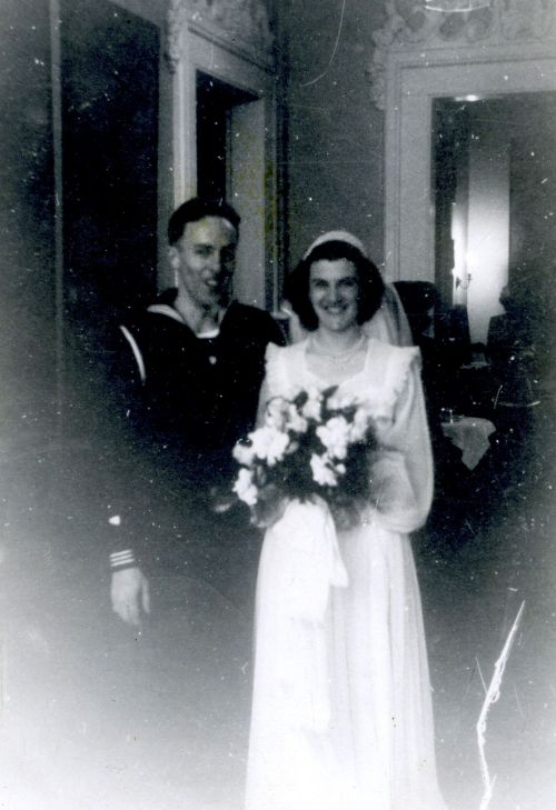 Janet's Wedding, February 6, 1943