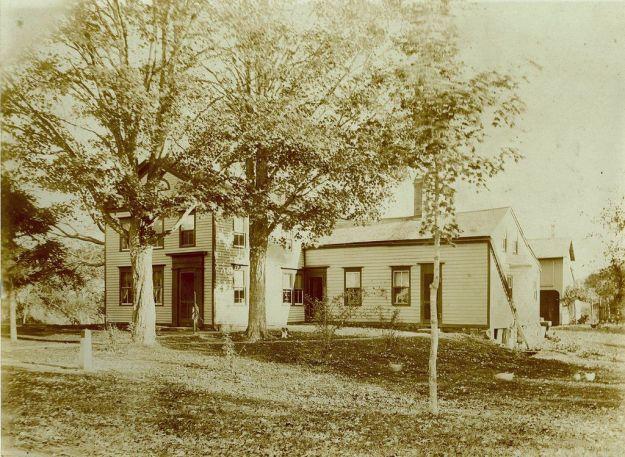 Hall Farmhouse around 1910