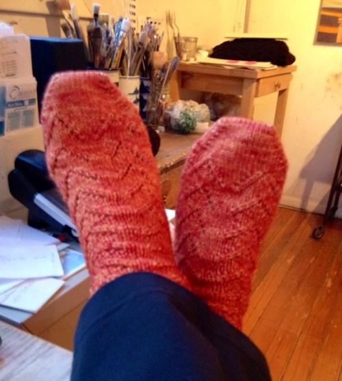 My orange socks
