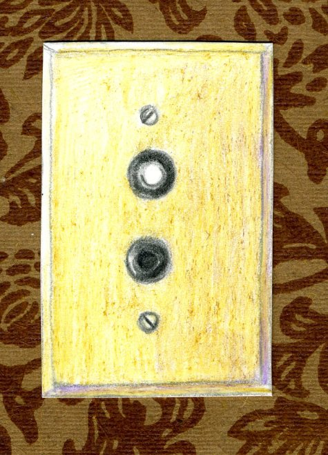 Front hall light switch