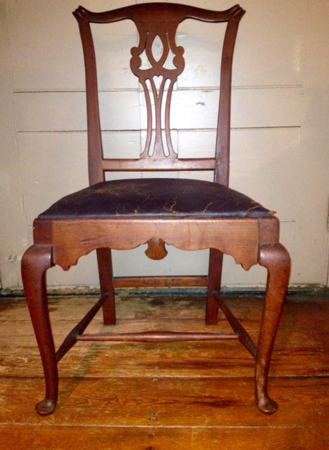 Hezekiah Hall's chair