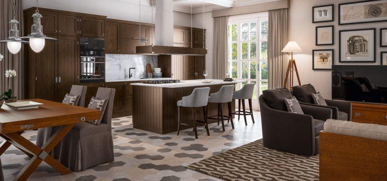 The redistribution of the service spaces has the purpose of expanding the living area as much. Cucina E Soggiorno Open Space E Multifunzionale Caroti Design Mag