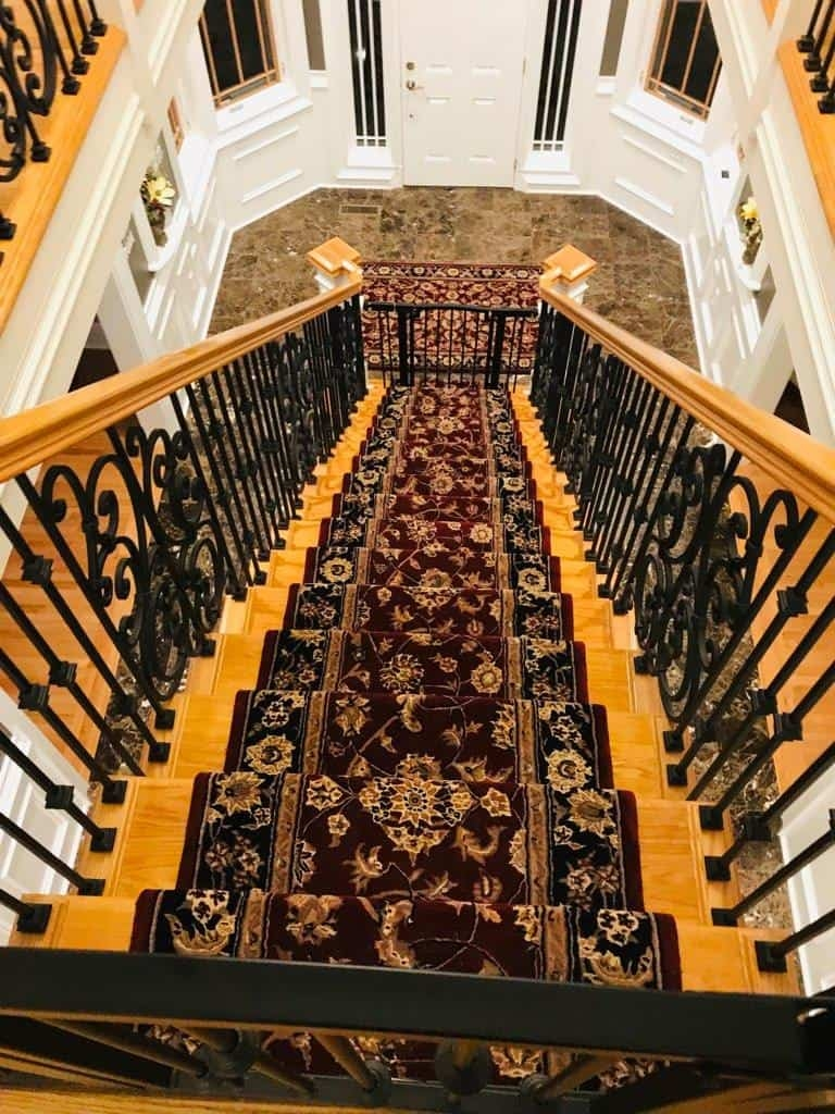 Measure A Staircase For Stair Runners Carpetmart Flooring Blog | Custom Stair Runners Near Me | Staircase Remodel | Animal Print | Rugs | Basement Stairs | Stair Treads