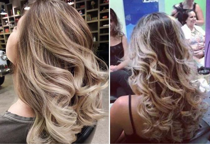 10 fotos de mechas ombré hair