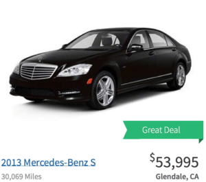 Mercedes-Benz Great Deal