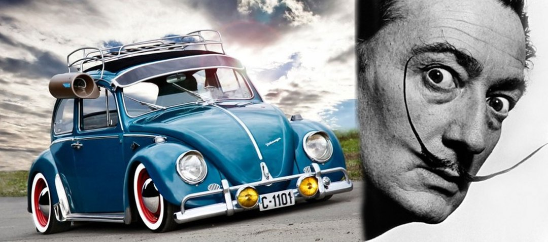 VW-Beetle_Salvador-Dali