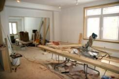 Casa in ristrutturazione con lavori in corso