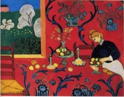 Quadro di Henry Matisse del 1908: La camera rossa