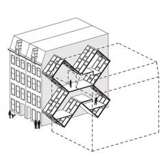 Diagramma - Kanaalstraat 2, Amsterdam, Olanda