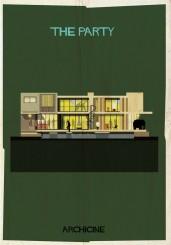 Federico Babina, il poster dedicato al film Hollywood Party di Blake Edwards