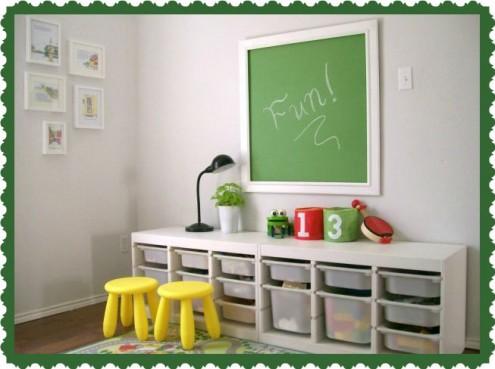 Interior-design per la camera dei bambini