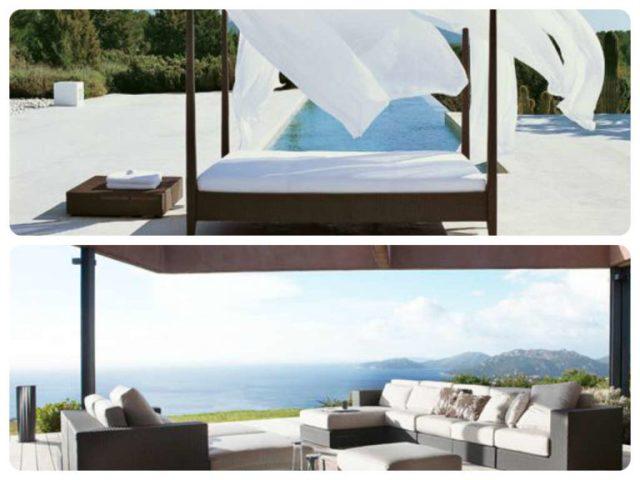 La linea Sunlace, soluzioni d'arredo per casa vacanze