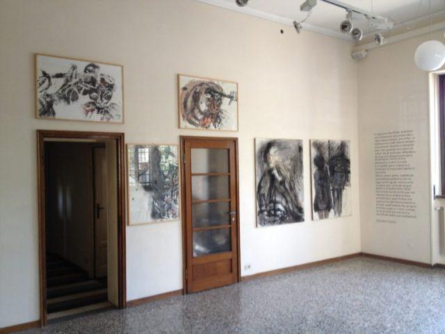 """Martin Disler, """"Vortici di conoscenza"""", mostra """"Giorni Felici"""", Casa Testori"""