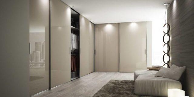 cabina armadio nella camera da letto