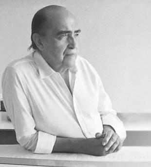 l'architetto brasiliano Oscar Niemeyer