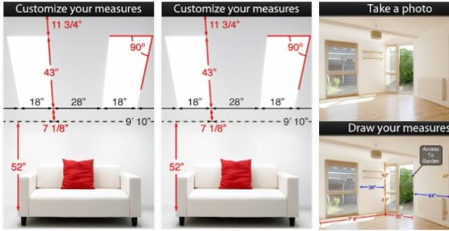Photo Measures - App per misurare casa