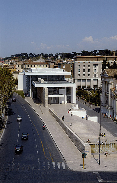 Richard Meier, Museo dell'Ara Pacis, Archivio Sovrintendenza Comune di Roma