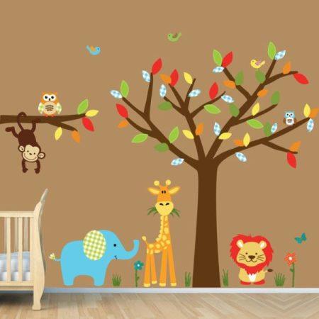 come decorare le pareti della cameretta dei bambini