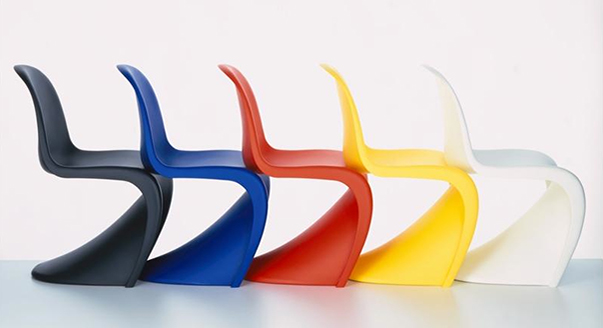 Sedia Pantone Rosa : La sedia panton di vitra casanoi blog