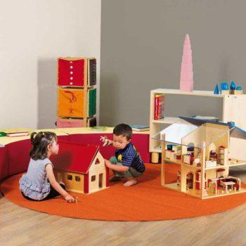 arredamento Montessori e Tappeto GAM