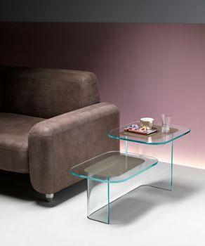Paesaggi, tavolino da salotto disegnato da Angeletti & Ruzza per Fiam
