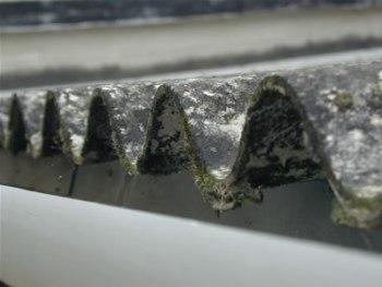 auto-rimozione dell'amianto è possibile in Piemonte. nella foto, tettoia in amianto