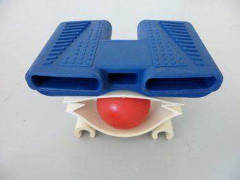 reti e materassi a Milano per dormire bene particolare di ball system, brevetto La Moderna Rete per tenere la colonna vertebrale allineata