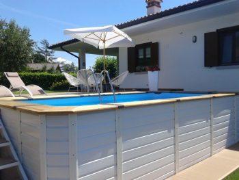 piscine fuori terra in legno Poolmaster
