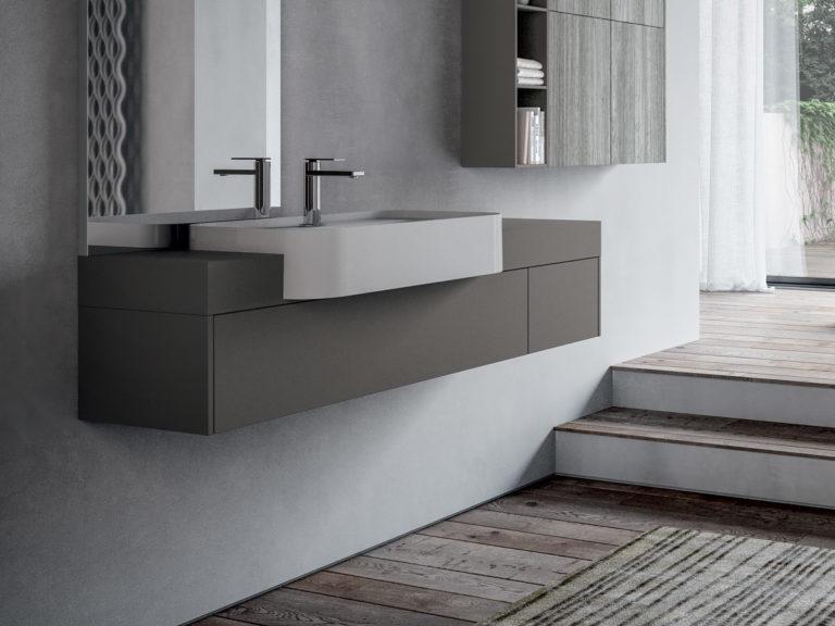 Lavandini per bagno con mobile good vidaxl set mobili per bagno