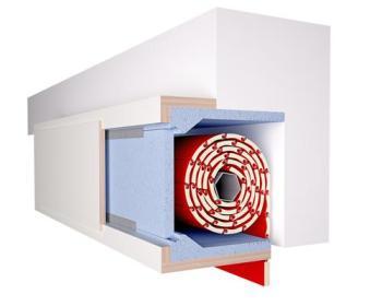Isolare il cassonetto delle tapparelle in fai-da-te: pannello per isolamento cassonetto Isolatutto Defaveri