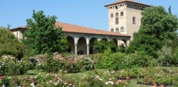 roseti e giardini da visitare Castello Quistini