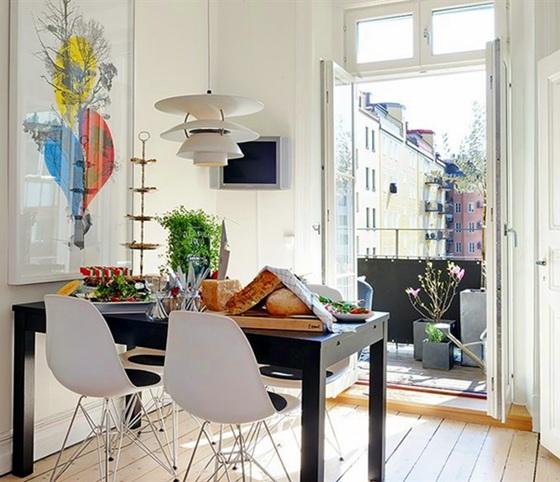 Ristrutturazione casa: consigli per risparmiare FOTO piccola sala da pranzo in casa centro storico ristrutturata