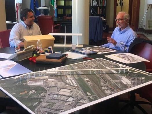 Ponte Morandi e Renzo Piano: Incontro tra Toti e Renzo Piano