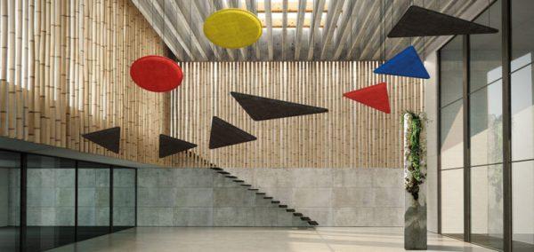 come abbinare acustica ed estetica in edilizia: isolamento acustico con pannelli Phonolook