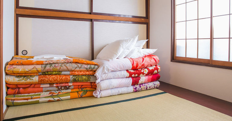 Futon e tatami il letto giapponese casanoi blog for Tatami giapponese