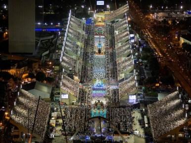 Rio de Janeiro capitale mondiale architettura 2020 foto del Dambodromo