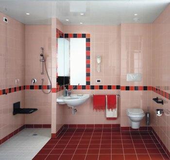 come progettare bagno per disabili FOTO Bagno per disabili Ala Rational