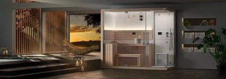 Installare una sauna in casa FOTO Sasha Mi, sauna Jacuzzi®