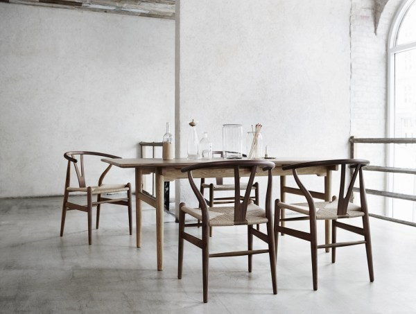 sedia wishbone chair, arch. Wegner Wishbone Chair versione classica