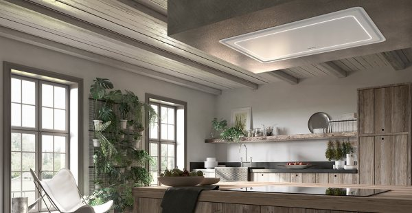 cappa da cucina da incasso di design Faber modello High light