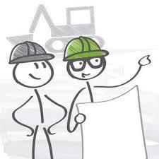 disegno che stilizza esperti di edifici salubri