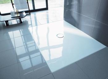 Piatto doccia filopavimento in acrilico Duravit