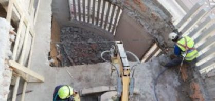 Demolizioni di edificio: Piano di di sicurezza per i lavoratori