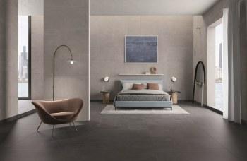 piastrelle per pavimento in gres porcellanato a tutta massa per la camera da letto