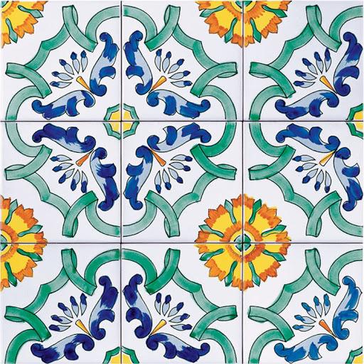 piastrelle ceramiche di Vietri per decorare casa