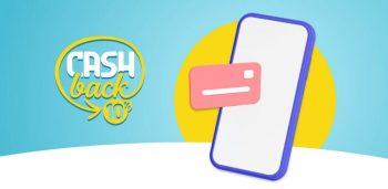 logo del cashback 10% a cui si accede scaricando app io