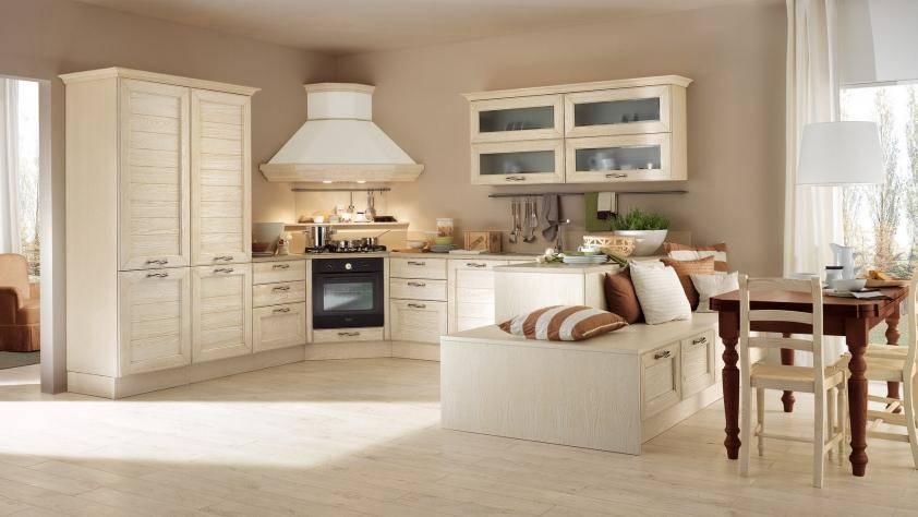 Cucina, soggiorno, camera e bagno. Color Sabbia Pareti Per La Cucina Blog Casaomnia