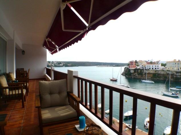 duplex con vistas al mar en venta en menorca