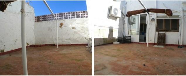 planta baja con patio en mahon